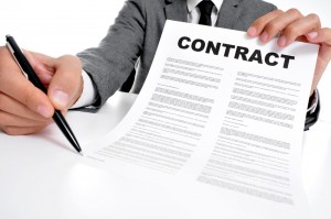 Sign Contract Here